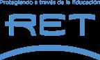 Logo RET Espanol Azul RGB - Lema Arriba
