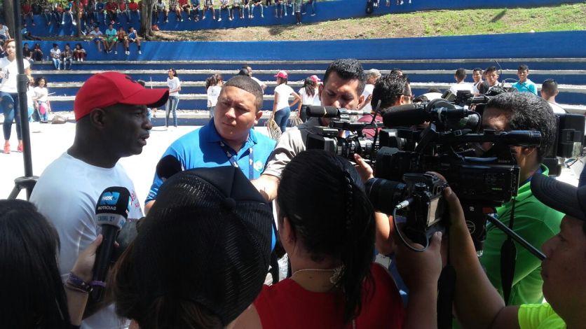 El Alcalde Cumberbatch de San Miguelito da inicio a las actividades